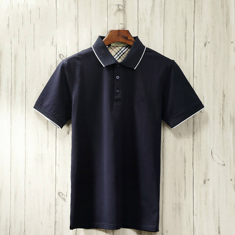 High quality 95% Peruvian cotton 5% spandex casual loose fit custom polo shirt, new design t shirt polo