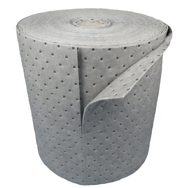 "Universal absorbent roll Absorbent 15"" x 100' Perforated Pads"