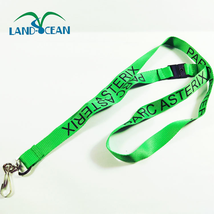 Green Lanyard with adjustable clip for sales