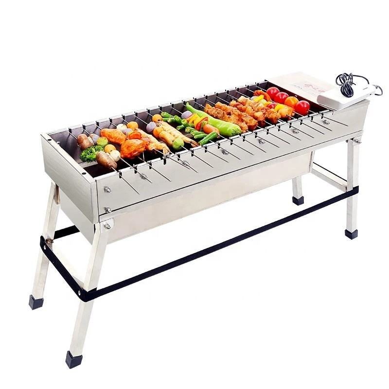 Automatic rotation doner kebab grill comercial smokeless bbq grill for restaurant grill