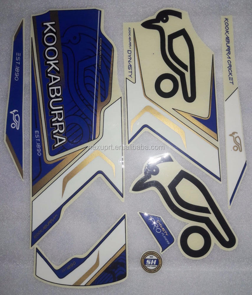 kookaburra cricket bat stickers
