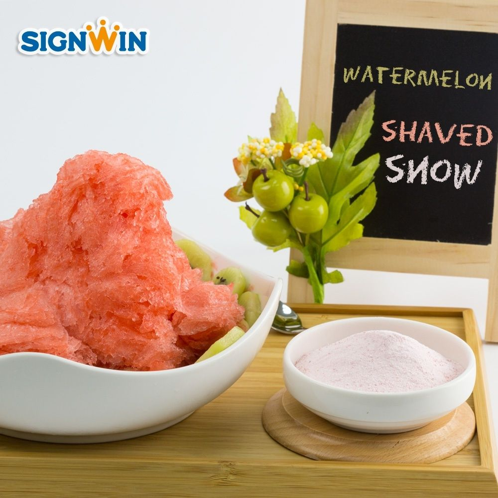 Taiwan Customized Family Watermelon Shaved snow powder