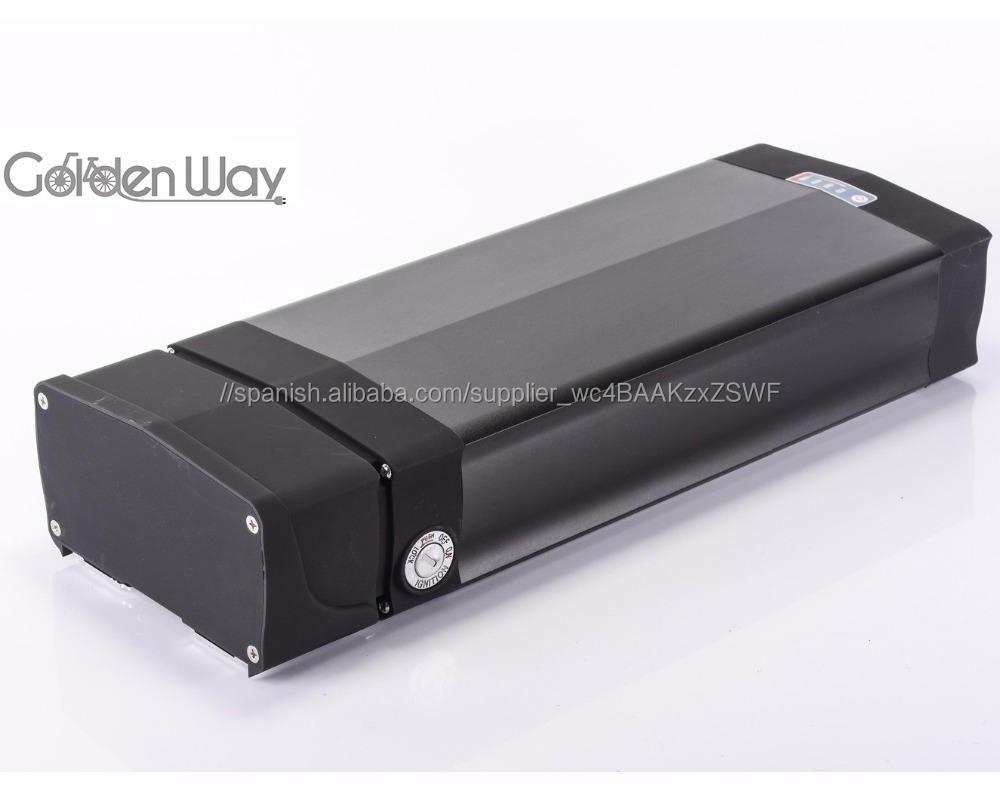 48 V 20AH batería de litio tipo cremallera trasera 18650 batería con USB para bicicletas eléctricas y <span class=keywords><strong>kit</strong></span> de bicicleta e