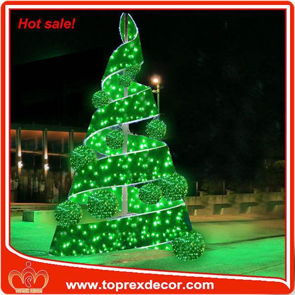 Классические рождественские свет веревочки мотив дерева (Твин Tree) со звездой