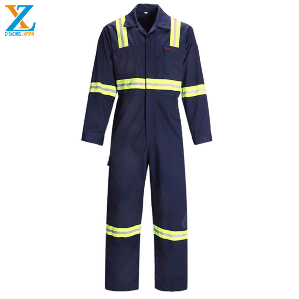 Flame Resistant 3M Reflective Coverall Uniform