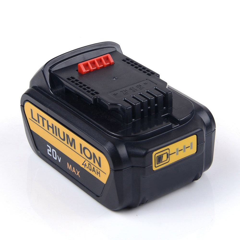 Power Tools Battery Repair 20V 4000mAh Li-ion Cell Replacement Batteries for Dewalt DCB200-2 DCB204-2 DCB205-2
