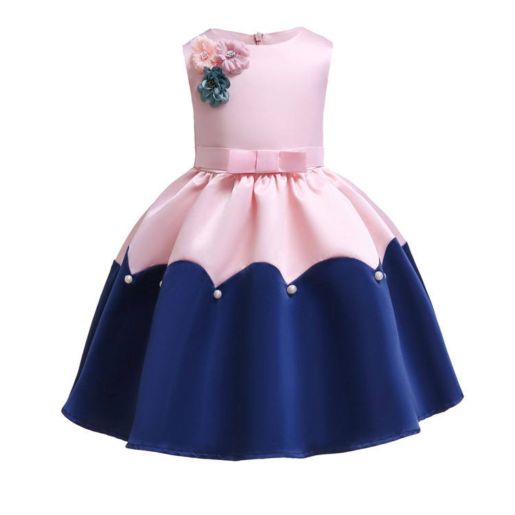 wholesale best quality fashion princess kid girl dress children girl birthday party dress