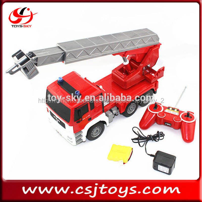 1:20 télécommande véhicule d'ingénierie homme, Échelle camion. lutte contre l'incendie camion man tgs camion rc