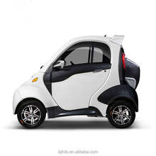 EEC certificate cheap fpur wheel electric car ,two passenger two doors electric vehicle