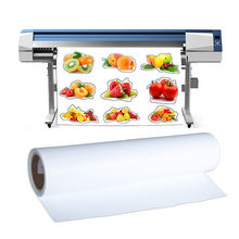 Kenteer pu htv roll eco solvent paper printable heat transfer t-shirt vinyl