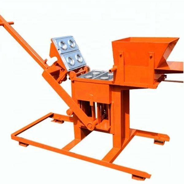 Presses ecological bricks QTS2-40 manual brick making machines qmr2-40 hand operated