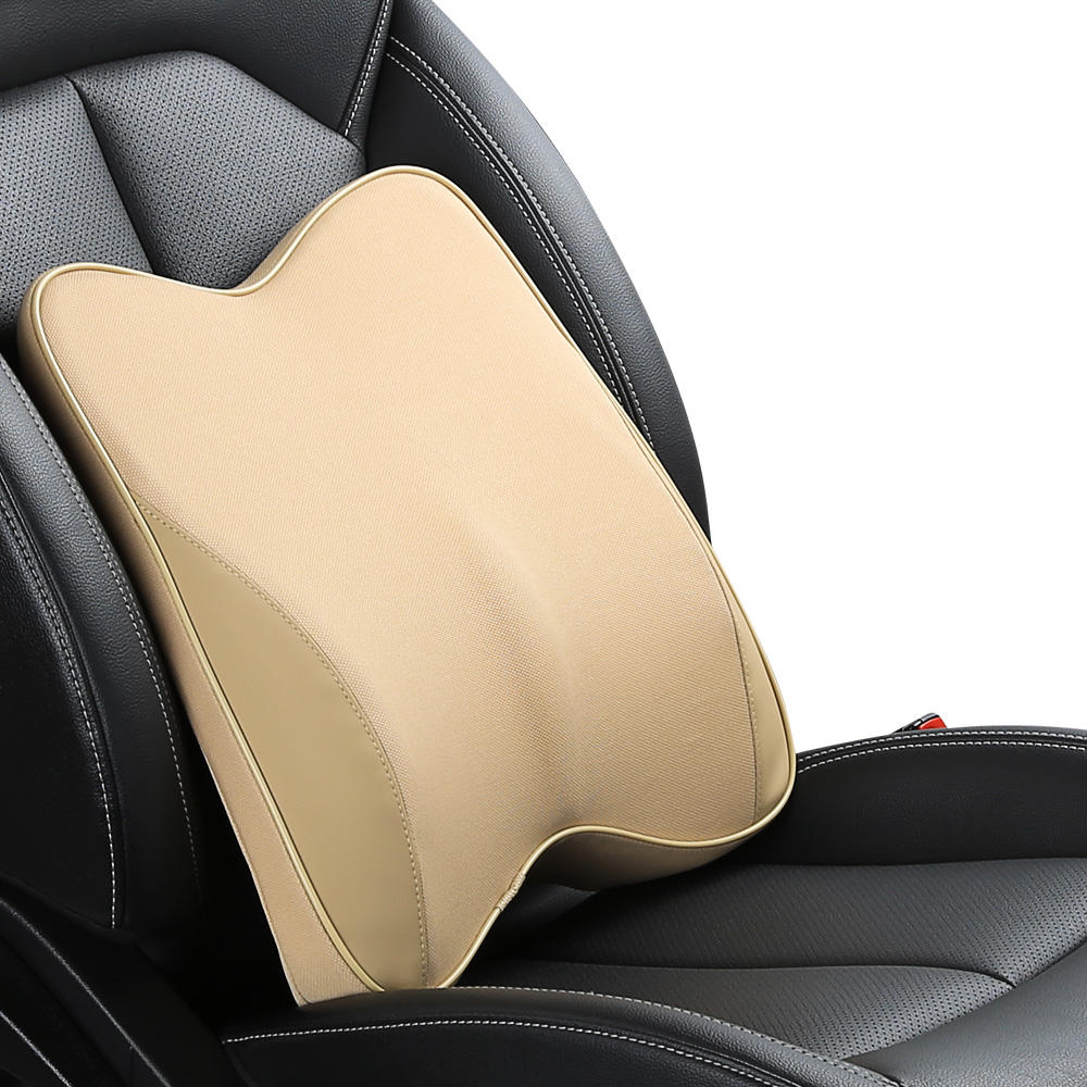 Car back care pillow Lumbar Support Comfortable Memory Foam Cushion Office Seat Car Rest Back Chair Waist Cushion Pillow For Car