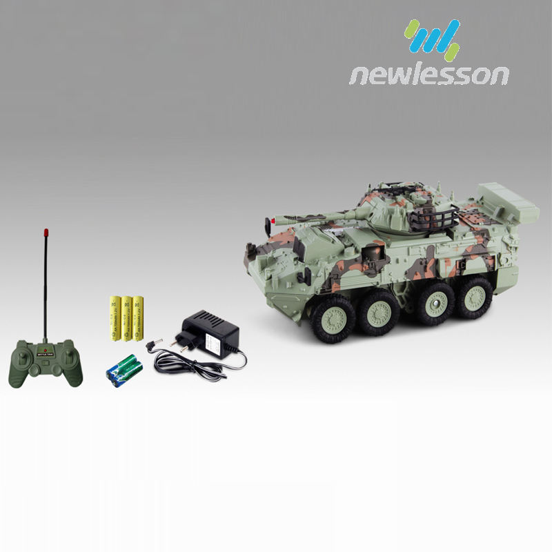 against armored vehicles remote control tank model with 180 degree rotation