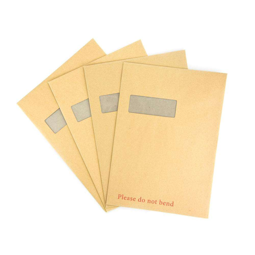 C3 C4 C5 DL C4 C5 Hard Board Backed Manila Envelope Do Not Bend Quick Delivery