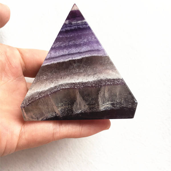 Wholesale company supply Natural Rock Dream Amethyst Crystal Pyramid for Decoration