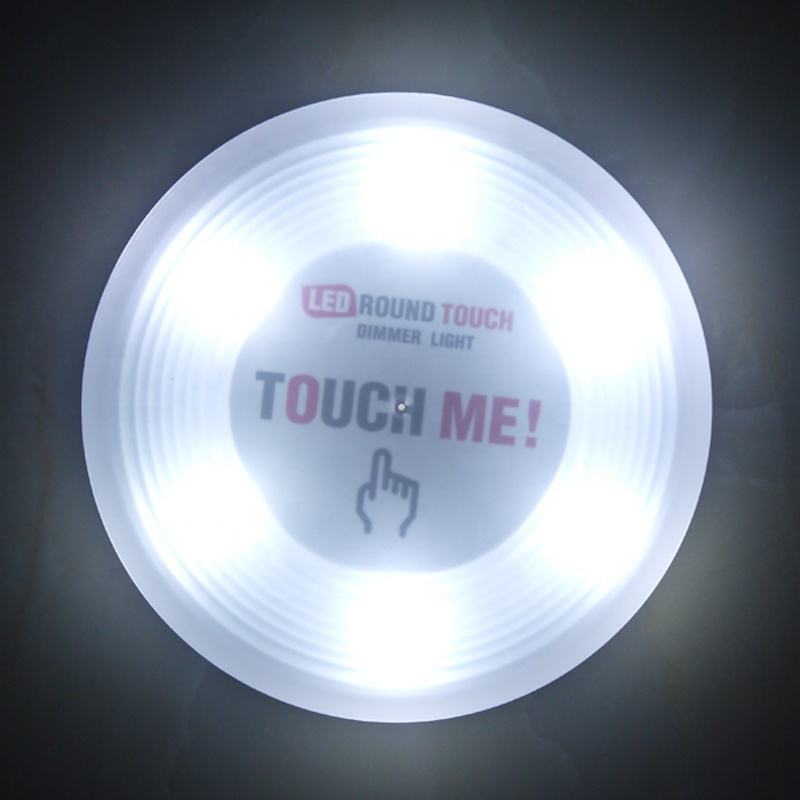 LED Closet Night Light Lamp Wireless Toilet Kitchen Cabinets Wall Mounted Sensor Night Light