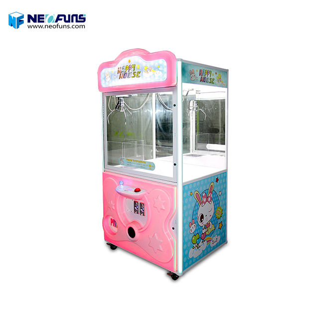 Happy House Claw Machine Plush Toys,Toy Crane Claw Machine For Sale Malaysia
