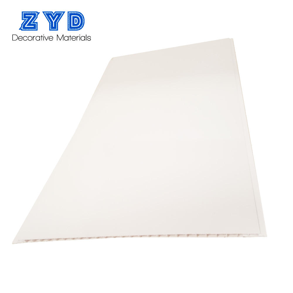Nuovo modello Impermeabile 30 cm bianco puro pannello di soffitto del pvc per Balcone