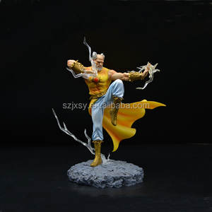 Chinese Kungfu Action Figure Fighting Game Menselijk Collectible Speelgoed