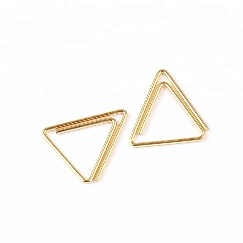Japanese Design Cutie Metal School Triangle Paper Clips