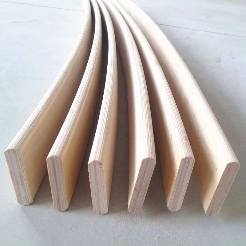Wholesale straight or curved wooden bed Slats