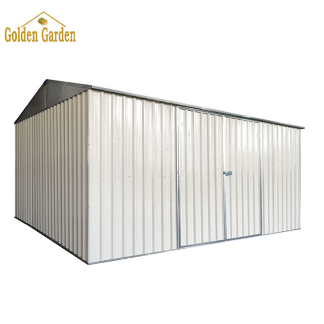SUE easy installation outdoor shed and storage metal motorcycle shed for sale garden shed metal