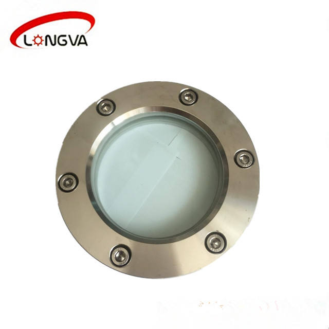 China manufacturer stainless steel round flange sight glass