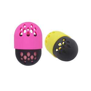 Wholesale Silicone Makeup Sponge Case Beauty Sponge Blender holder