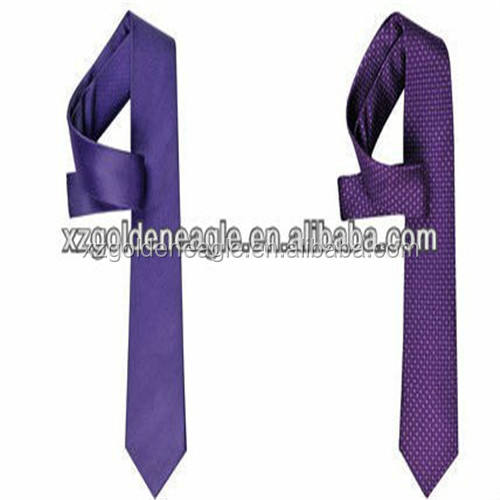 Men Fashion Silk Tie Pure Colour New Year's Gift