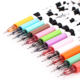 12 pcs/Lot Milk Gel Pen Kawaii Cow Pens