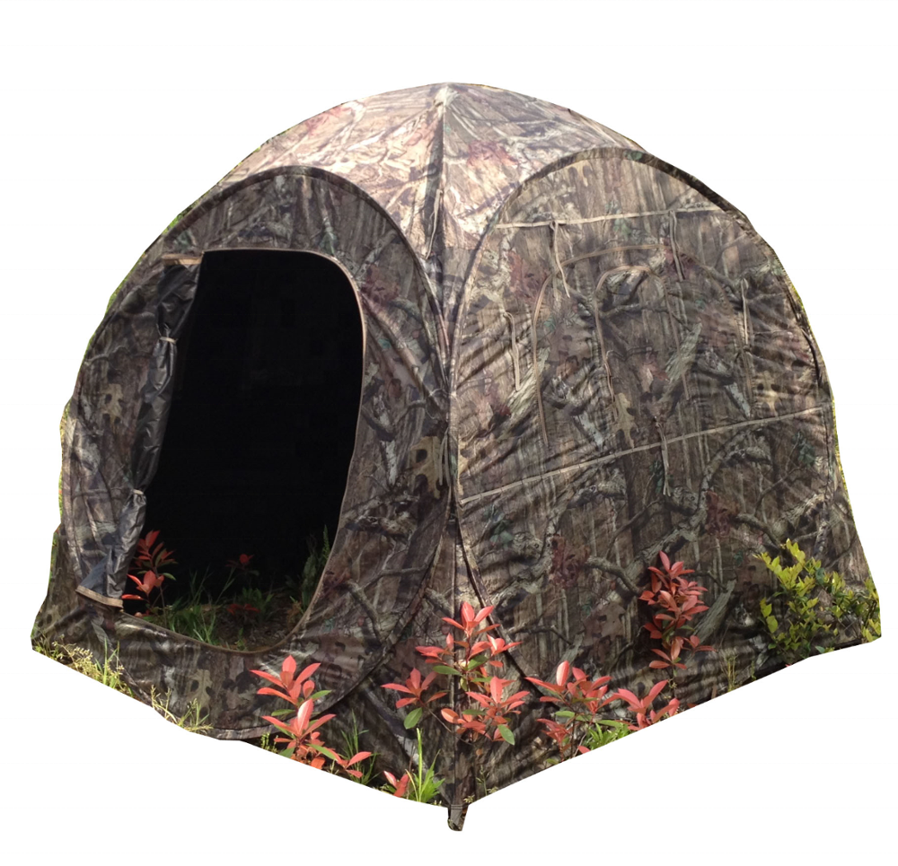 Camo The Doghouse Pop Up Hunting Blind Tent