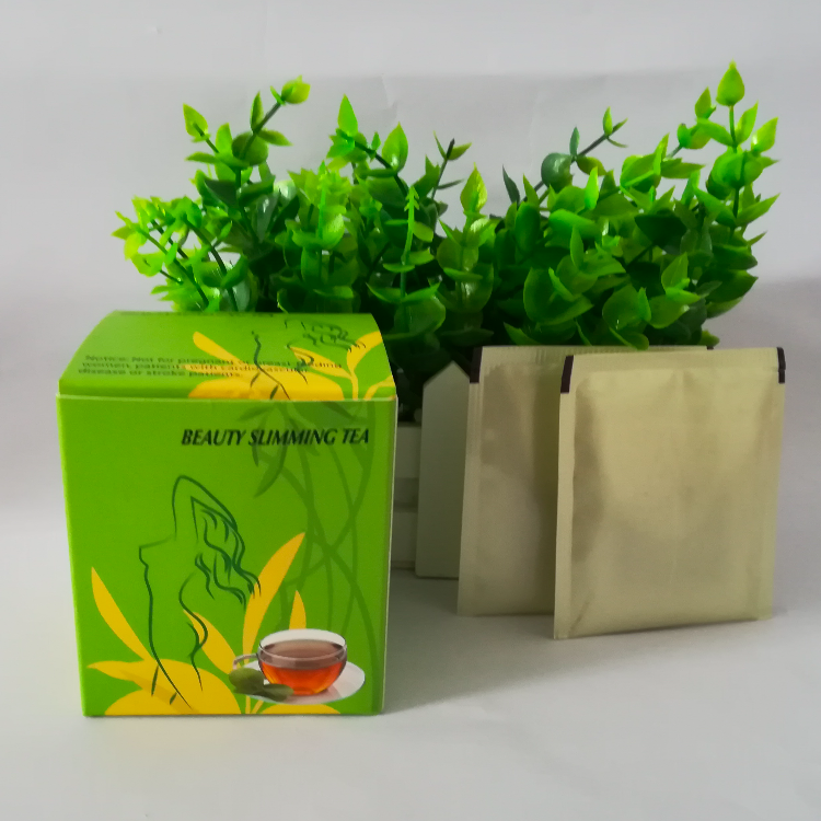 Ready market no side effect natural slimming detox tea