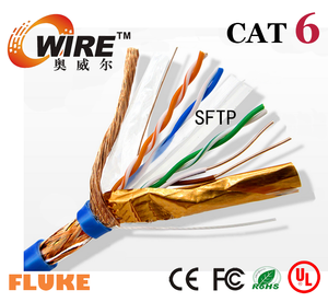 2015 cat6 stp 305 meters high quality hot sale ,utp/ftp cat6 lan cable, best price stp cat6 lan cable