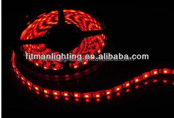 2014 hot-sale led strip common cathode DC12V/24V, 5M flexible rgb led strip, 5050 led strip 300 leds rgb or single