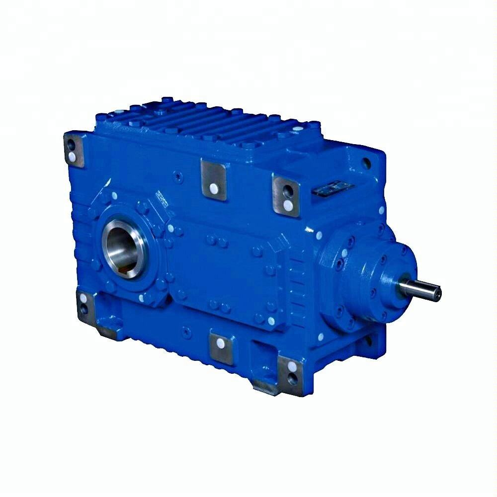 Hollow shaft helical bevel concrete mixer heavy duty gearbox