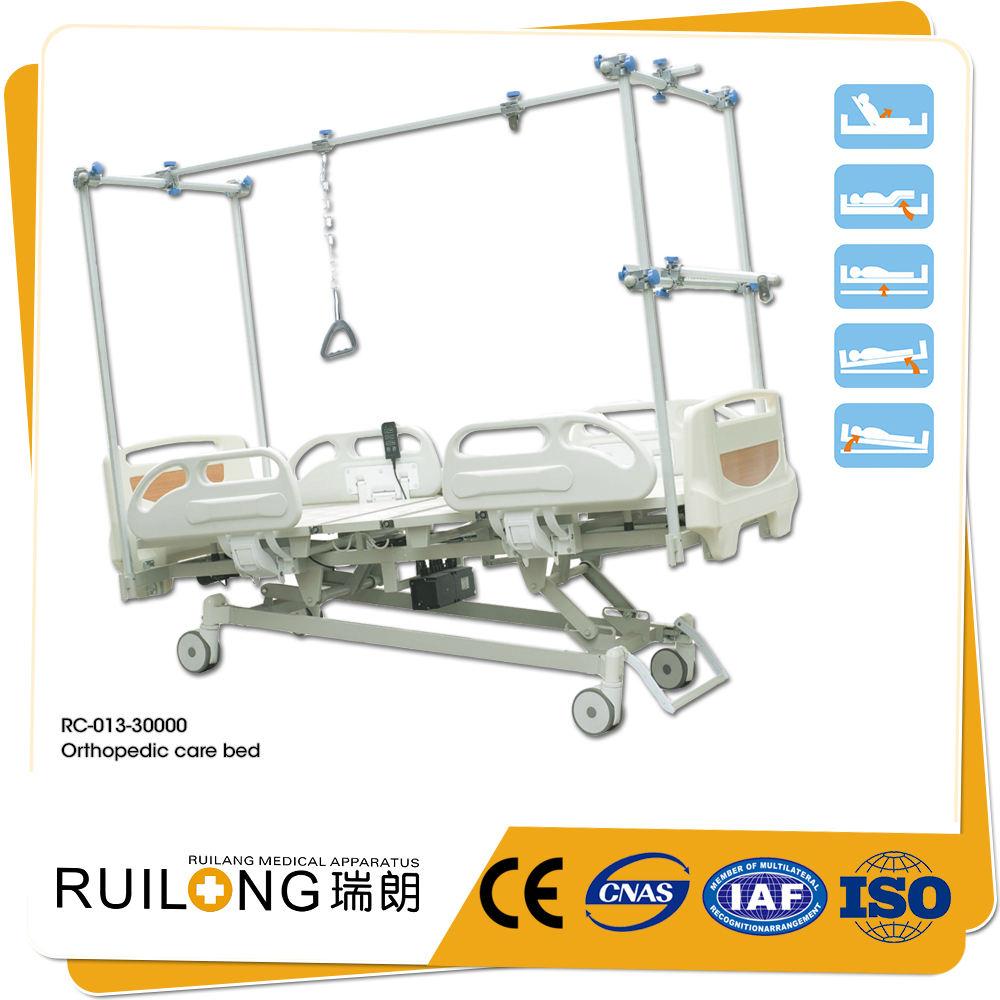 Produttore di Qualità CE ABS Bedhead Ospedale Elettrico Letto Ortopedico