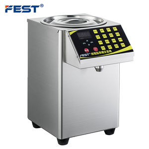 FEST RC-16N Milk Tea Fructose Quantitative Machine Tea Juice Bubble Tea Fructose Syrup Dispenser Machine 8L 110V/220V