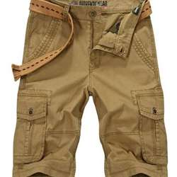 vintage used clothing, Cargo Shorts,Secondhand Cargo Pants