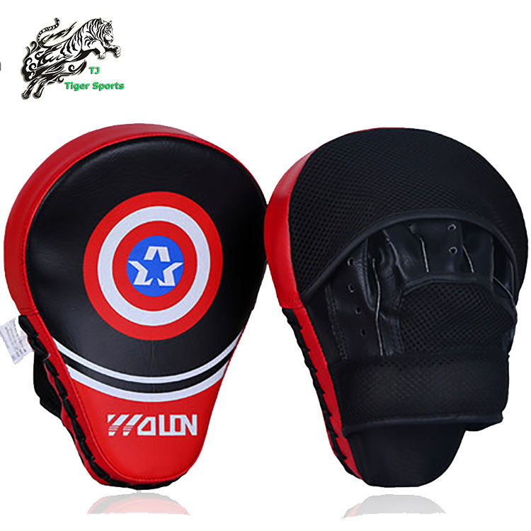 Wholesale Hand Target MMA Focus Punch Pad Boxing Training Gloves Mitts Karate Muay Thai Kick Fighting