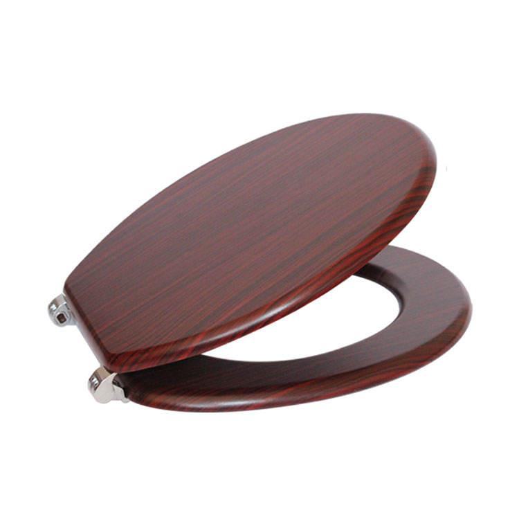 WC asientos cubierta lento cerca tapa <span class=keywords><strong>nuevo</strong></span> diseño sólida, de alta calidad, asiento de madera cubierta de asiento del inodoro