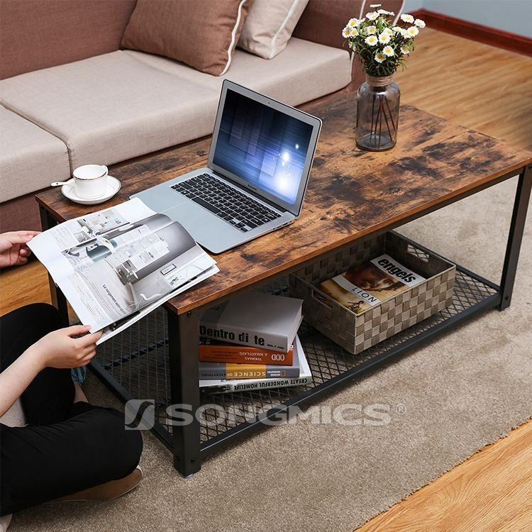 Wooden Furniture Suppliers Factory Living Room Sofa Corner Coffee Tables Furniture