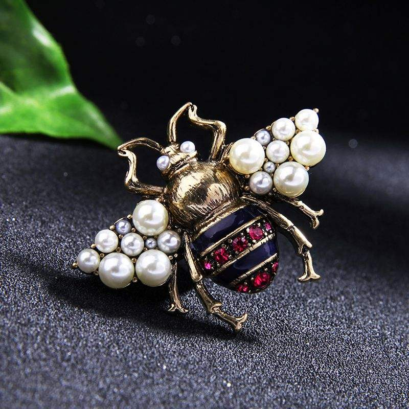Nepali Jewelry Fancy Brooch Needle Bee Animal Muslim Hijab Scarf Saree Pins Brooches