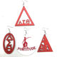 2018 Delta Sigma Theta Sign Earrings