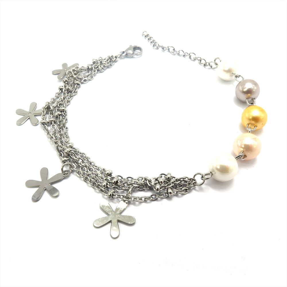 bijouterie flower charms pulseras mujer womens bracelets bisuteria al por mayor china