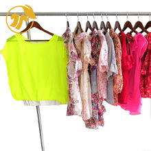 Cheap clothes new second hand used clothing of Ladies Silk Blouse used clothing bales uk