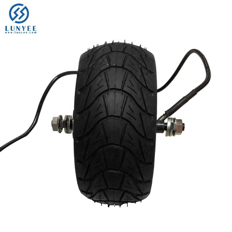 8 Inch Electric Bicycle Scooter Wheel Fat Tire 200*85 8''wheel Brushless Toothless Hub Motor E bike Engine Wheel