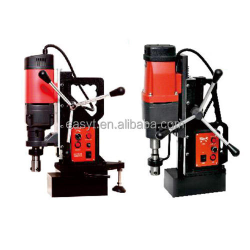 High Precision 220v Magnetic Drilling Tapping Machine For Steel Plate