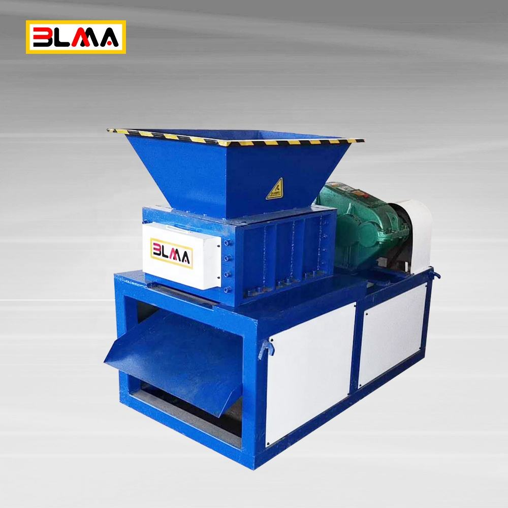 Styrofoam 1200 timber pet textile industrial crusher rubber small plastic bottle tire shredder machine