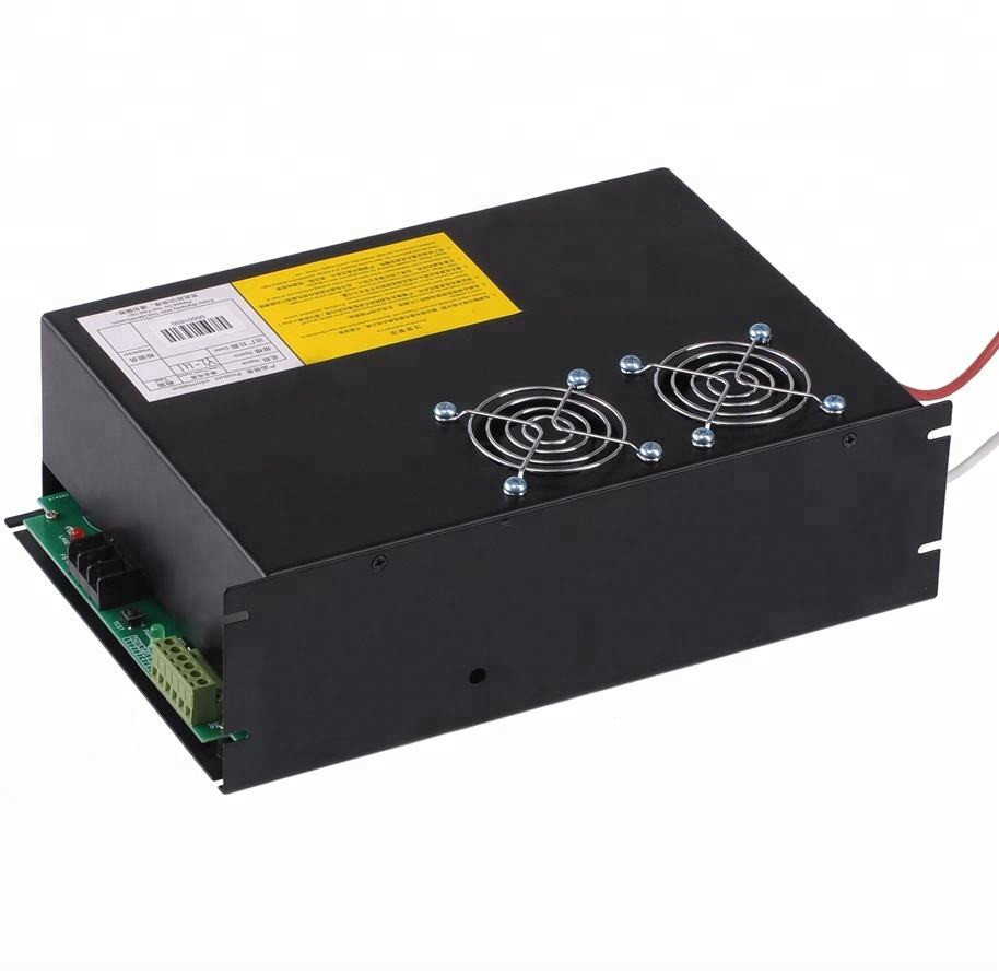60w 80w 100w 150w co2 laser tube of power supply for laser cutting machine