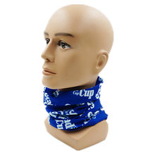 Custom Printed Seamless Tube Neckerchief Scarf Neck Warmer Bandana